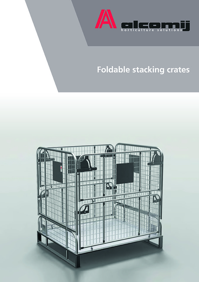 Download leaflet - Foldable stacking crates