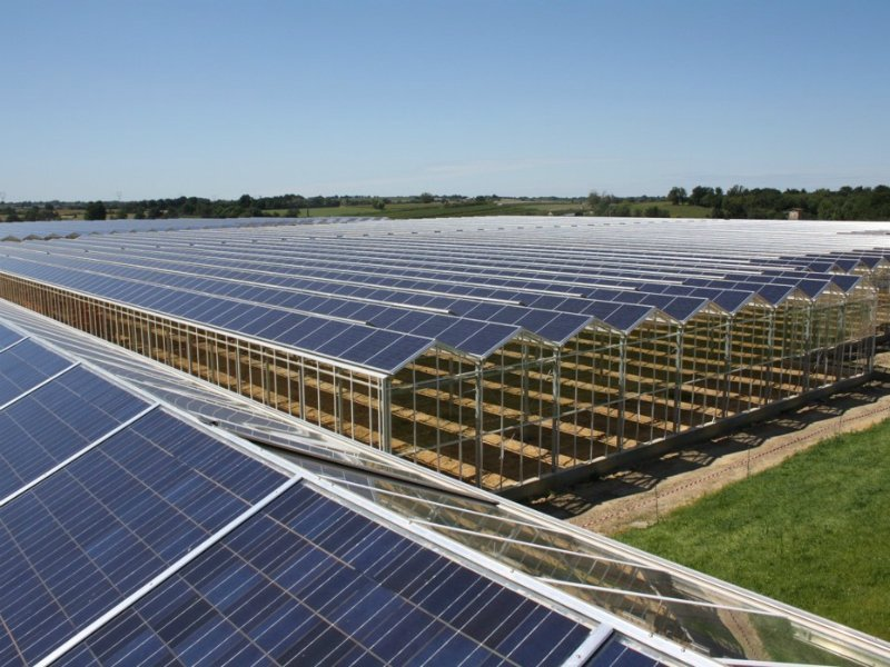 Solar greenhouse roof systems