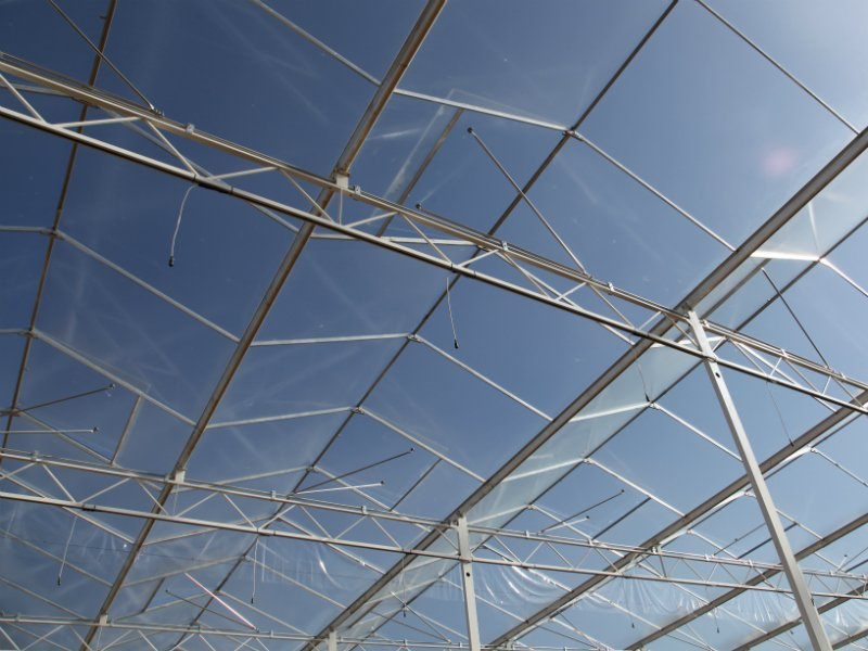 Venlo greenhouse roof system of Alcomij