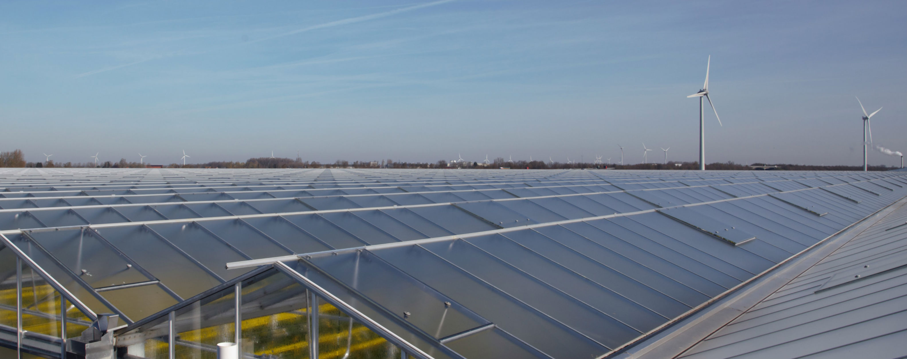Venlo greenhouse roof system | Alcomij