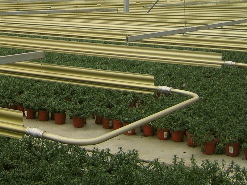 Greenhouse heating system | Alcomij