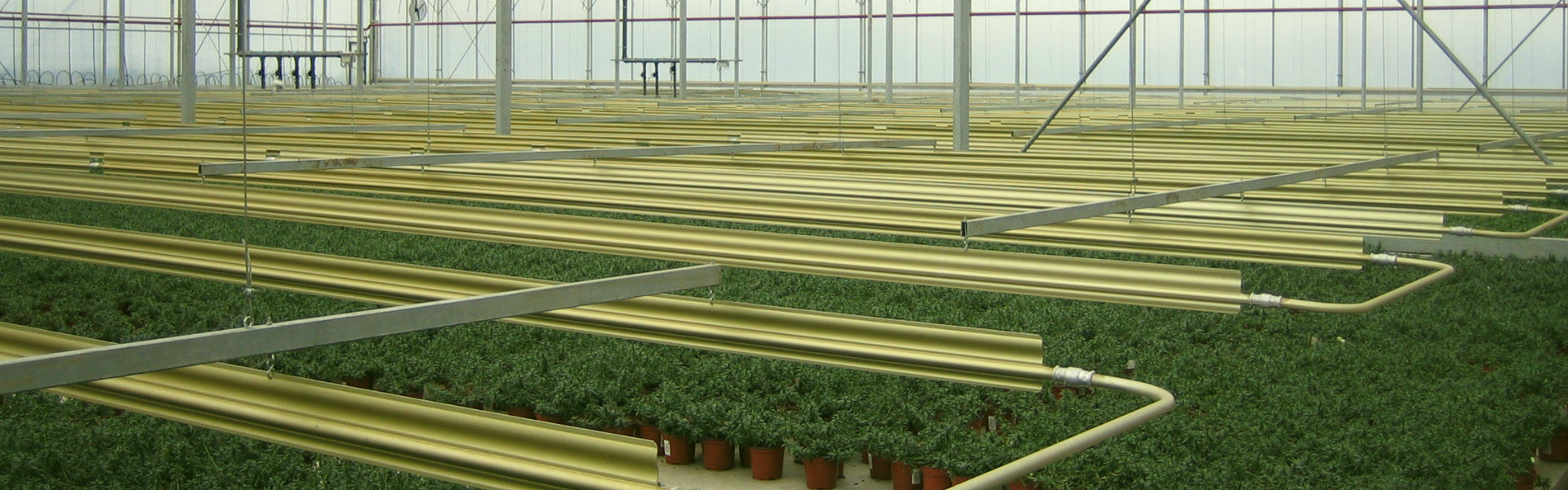 Greenhouse heating system | Alcomij banner