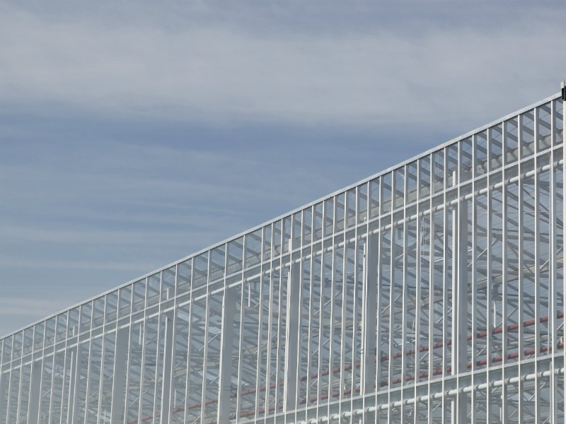 Greenhouse side wall system | Alcomij